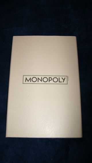 Monopoly Small Travel Folding Game Board,  Replacement Part Or Arts And Crafts