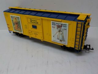 Aristo - Craft Art - 46039 - 1 Norman Rockwell Summer Box Car Series 1 Of 4 G Scale