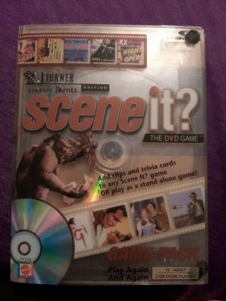 Scene It? Dvd Game: Turner Classic Movie Edition Game Pack