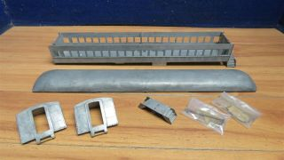 "O Scale 2 Rail Metal Scale Craft Passenger Car Body Parts 19 "" 597497"