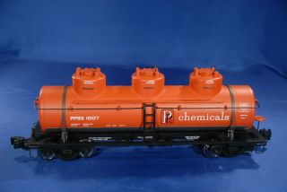 Aristo - Craft 41617 Ppg Chemical 3 Dome Tank Car