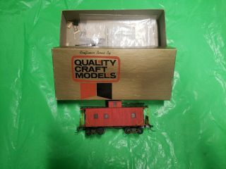 Quality Craft Models Erie Wood Sheated Caboose
