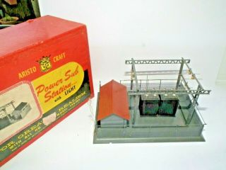Aristo - Craft Power Sub - Station Finest Detail Boxed H0 Gauge Suit 00