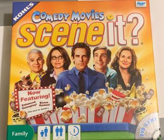 Scene It? Comedy Movies Deluxe Edition Screen Life.  Dvd Games 2011