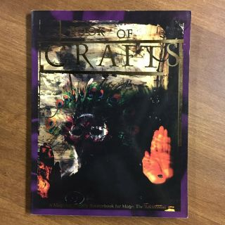 Mage The Ascension Book Of Crafts White Wolf Vg,