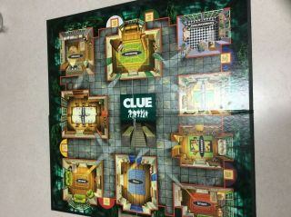 Clue Game Board 2002 - Board Only - Replacement - Craft - Decor