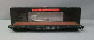 Aristo - Craft 46319 G Scale Haven & Hartford Flatcar W/stakes/box