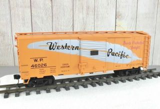 "Aristo - Craft / Western Pacific "" Shock Protected Freight "" Box Car"