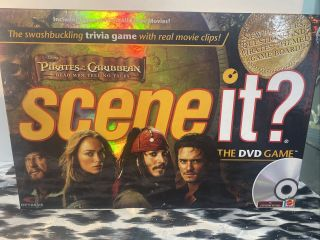Scene It? The Dvd Game - Pirates Of The Carribean Edition 100 Complete