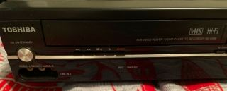 Dvd/vhs Combo Player Model Number Sdv398kc Movies Family Night (no Remote)
