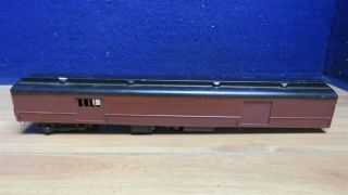 "O Scale 2 Rail Cast Scale Craft Baggage Car 19 "" 2 Blind Doors 598003"
