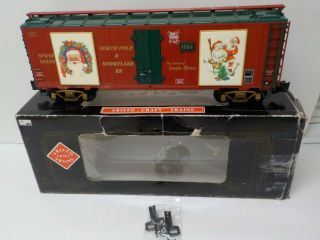 Aristo - Craft Art - 46225 Christmas - 2 (1995) Reefer Car G Scale
