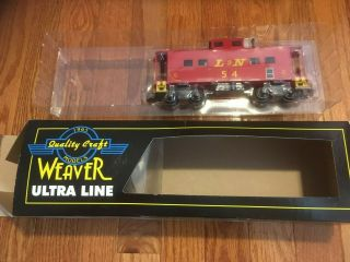 Weaver Ultra Line Quality Craft Models O Scale Caboose Louisville & Nashville