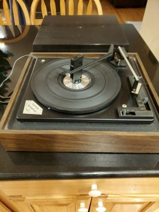 Vintage Montgomery Ward Record Player By Bsr Crafted In Great Britain