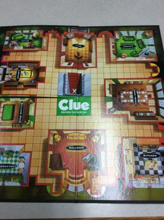 1998 Clue Game Board Replacement - Board Only - Replacement - Crafts - Decor