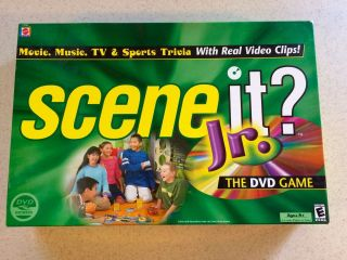 Scene It Jr? The Dvd Movie Trivia Family Game For Ages 8 & Up - Fun For All