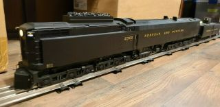 O Scale 3rd Rail Brass Jawn Henry Norfolk And Western 2300 Te - 1 Locomotive
