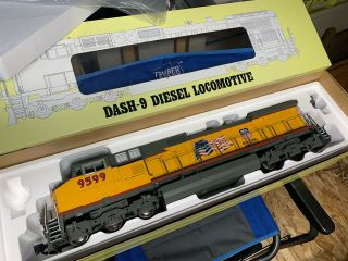 "Aristo Craft Diesel Loco G Scale Dash - 9 Union Pacific "" Flags & Wings "" 9599"