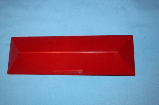 American Flyer By Mini - Craft Red Station Roof For 273,  274,  275 Etc.