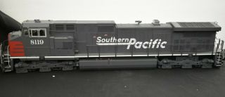 Aristro Craft - 23009 - G Scale Dash - 9 Locomotive Southern Pacific 8119 -