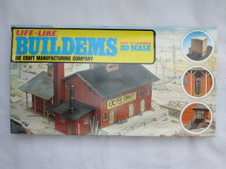 Life - Like Buildems Ho Die Craft Manufacturing Co In A Very Battered Box