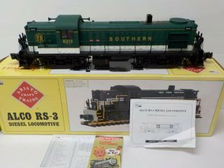 Aristo - Craft Art - 22209 Alco Rs - 3 Southern Ry Diesel Locomotive G Scale