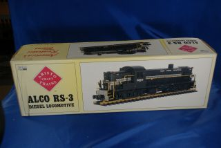 Aristo Craft Trains G Scale Alco Rs - 3 Diesel Locomotive Nh Rr