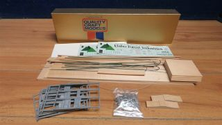 "O Scale 2 Rail Quality Craft Idaho Forest All Door Box Car Kit In 14 "" Box 597495"