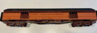 Scale Craft Milwaukee Road Baggage Passenger Car American Oo Scale
