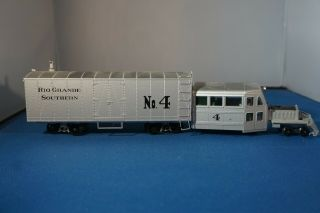 Precision Craft Models On30 Galloping Goose 4 Freight Body Rio Grande Southern