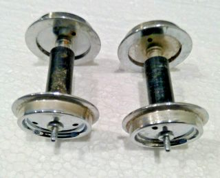 Aristo Craft G Scale Metal Wheels Wheels With Plastic Centers,  Axle End