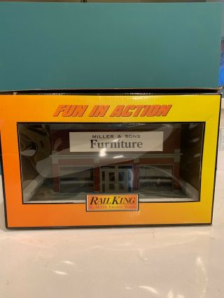 Mth Railking Miller & Sons Furniture Department Store 30 - 90025