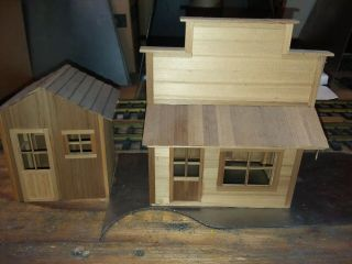 2 G Scale Building Hand Crafted Building - Wood
