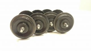 Aristo Craft Metal Wheel Set Black / 28mm Dia.