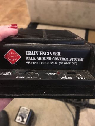 Aristo Craft Trains Train Engineer Walk - About Control System Plus More
