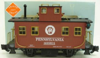 Aristo - Craft 42201 Pennsylvania Bobber Caboose W/plastic Wheels Ln/box