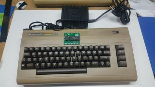 Commodore 64 Breadbin Unit.  C64.  100 Percent.  Includes Power Supply.