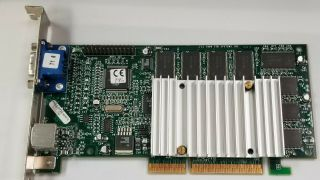 3dfx Voodoo 3 3000 Agp 16mb Dos Retro Gaming Video Card M24