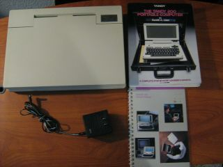Radio Shack Trs - 80 Model 200 Portable Computer