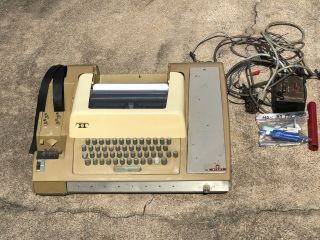 Vintage Model 33 Teletype Telex Machine