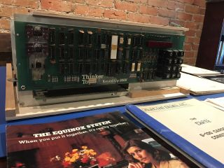 "1977 Thinker Toys ""keyed - Up 8080"" Computer - Altair Era Homebrew W/ Invoices"