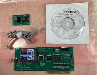 Cffa3000 For Apple Ii Computer Cd And Switch - R&d Automation With 4gb Card