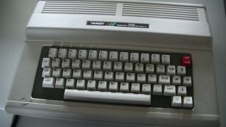 Tandy Color Computer 3 With Upgraded Hd63c09ep