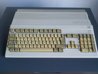 Commodore Amiga 500 Pal 1.  3 Wb Fully And With Ps,  Internal Gotek