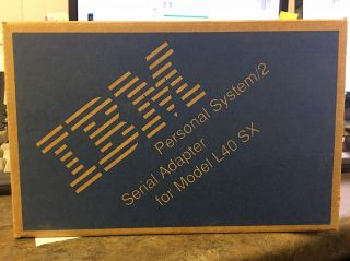 79f0979 | Ibm Ps/2 L40sx Serial Adapter Old Stock