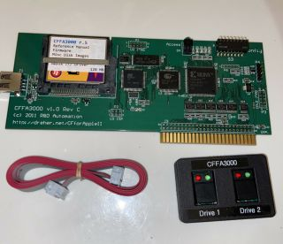 Cffa3000 For Apple Ii Computer W/ 128mb Cf Card And Switch Accessory