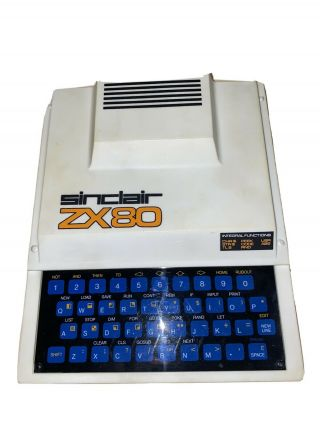 Vintage Sinclair Zx - 80 - - Good Cosmetic.