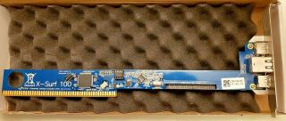 X - Surf 100 Ethernet Card For The Amiga 2000,  3000,  And 4000 Computer
