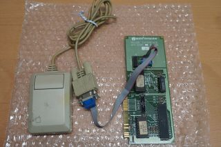 Apple Ii Mouse And Interface Card - 670 - 0030 (1983)