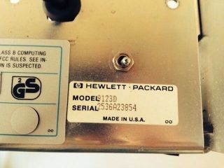 Hp 9123d Ds/dd Disk Drive